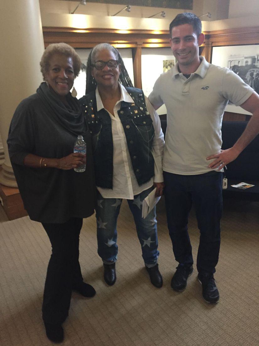 With Ricki Stevenson desendant of Little Rock 9.