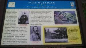 Fort Mulligan Marker West Virginia