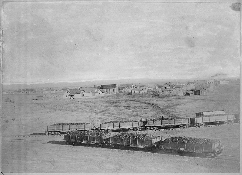 Winslow Arizona in 1890.